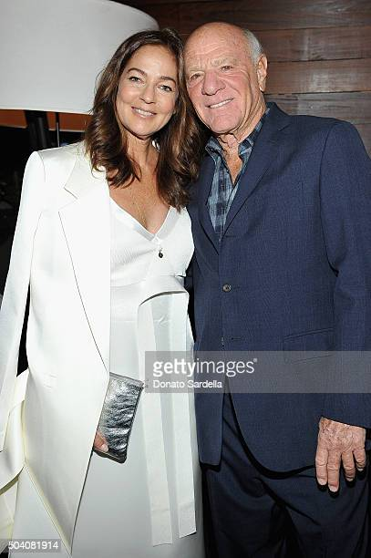 Kelly Klein and Chairman and Senior Executive of IAC/InterActiveCorp and Expedia Inc Barry Diller attend Photographs by Kelly Klein Hosted by Barry...