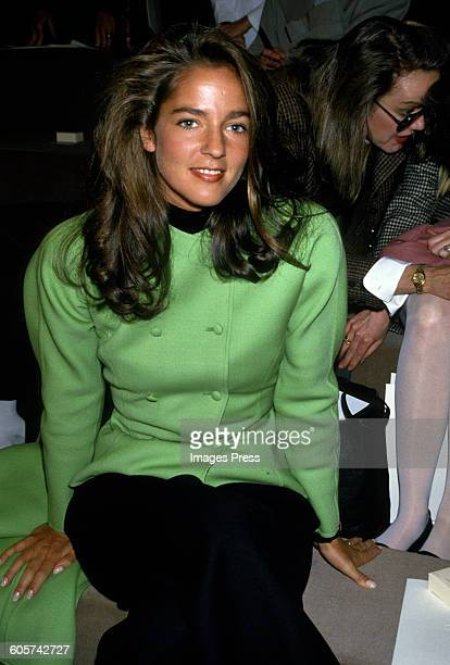 Kelly Klein at the Calvin Klein Fall 1988 show circa 1988 in New York City