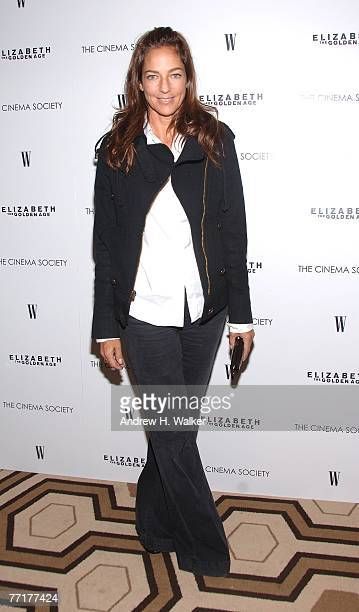 Kelly Klein attends a special screening of Elizabeth The Golden Age hosted by The Cinema Society and W Magazine on October 03 2007 in New York City