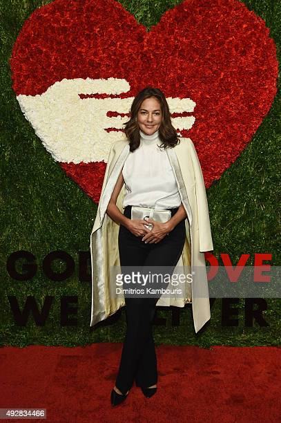 Kelly Klein attends God's Love We Deliver Golden Heart Awards at Spring Studio on October 15 2015 in New York City