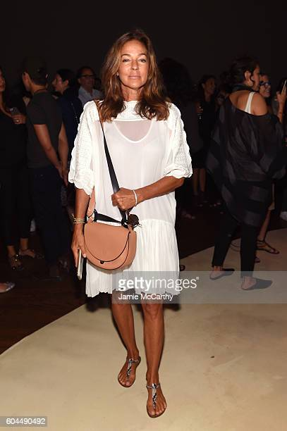 Kelly Klein attends New York Fashion Week September 2016 at Urban Zen on September 13 2016 in New York City