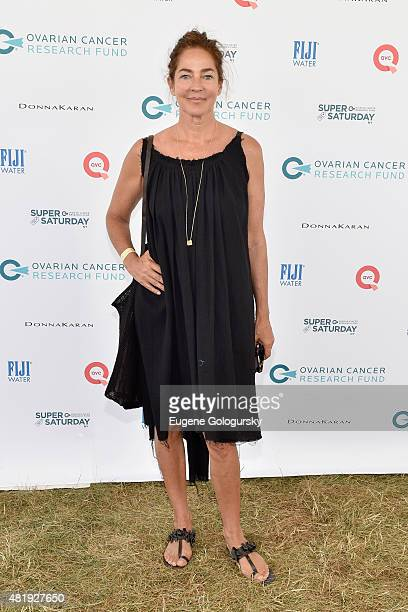 Kelly Klein attends OCRF's 18th Annual Super Saturday NY CoSponsored by FIJI Water on July 25 2015 in Water Mill New York