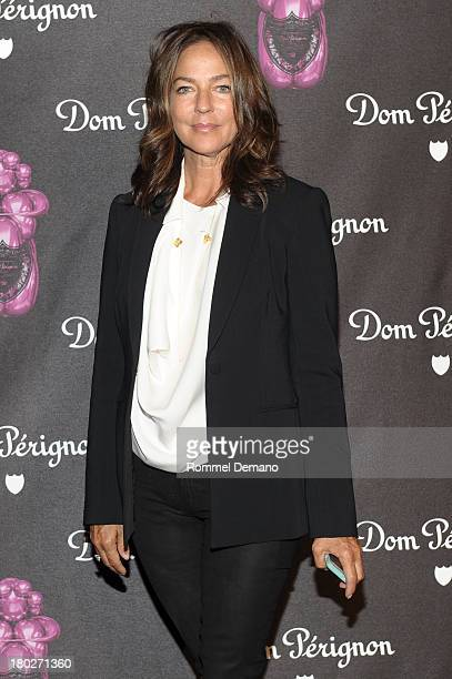 Kelly Klein attends the Dom Perignon And Jeff Koons Rose Vintage 2003 Launch Celebration at 711 Greenwich Street on September 10 2013 in New York City