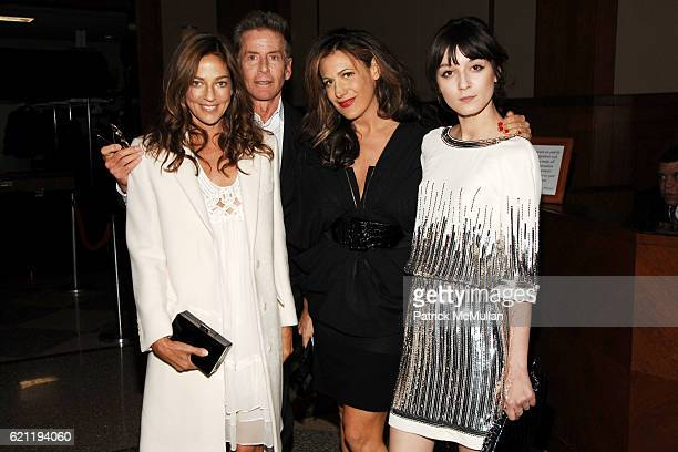 Kelly Klein Calvin Klein Nathalie Moar and Irina Lazareanu attend INTERNATIONAL CENTER OF PHOTOGRAPHY's 24th Annual INFINITY AWARDS at Pier 60 on May...