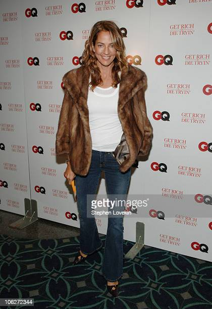 Kelly Klein during GQ Hosts a Special Screening of Get Rich or Die Tryin Inside Arrivals at Loews 19th Street East Theatre in New York City New York...
