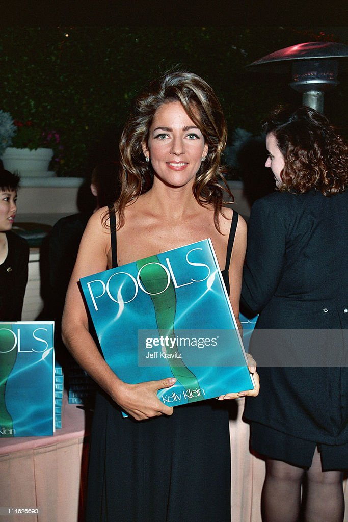 Kelly Klein during Poolside Cocktail Party for Kelly Klein's Book, 'Pools' at Beverly Hills Hotel in Beverly Hills, CA, United States.