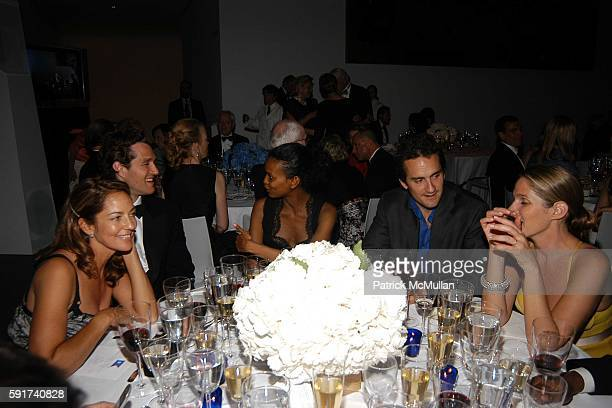 Kelly Klein Eric Zinterhofer Liya Kebede Mathew Dupont and Aerin Lauder attend The MUSEUM OF MODERN ART hosts their 37th Annual Party in the Garden...