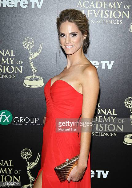 Kelly Kruger arrives at the 41st Annual Daytime Emmy Awards held at The Beverly Hilton Hotel on June 22 2014 in Beverly Hills California