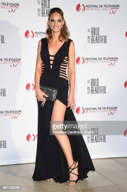 Kelly Kruger attends the 'The Bold and The Beautiful' 30th Anniversary during the 57th Monte Carlo TV Festival Day 3 on June 18 2017 in MonteCarlo...