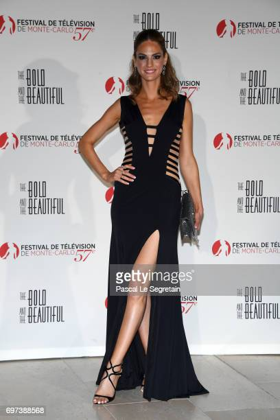 Kelly Kruger attends the 'The Bold and The Beautiful' 30th Years anniversary during the 57th Monte Carlo TV Festival Day 3 on June 18 2017 in...