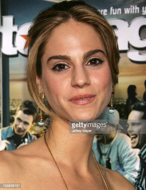 Kelly Kruger during Entourage Season Two Los Angeles Premiere at El Capitan Theatre in Hollywood California United States