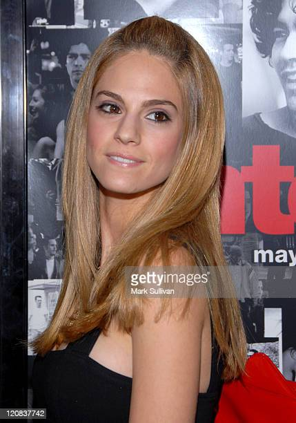 Kelly Kruger during Entourage Third Season Premiere Arrivals at The Cinerama Dome in Hollywood California United States