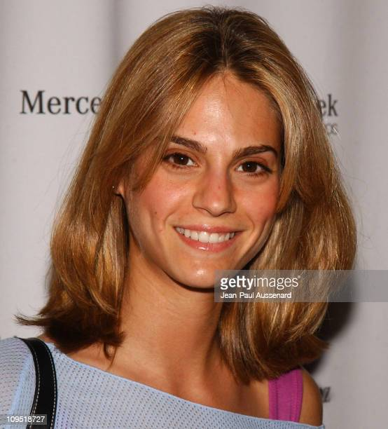 Kelly Kruger during MercedesBenz Fall 2004 Fashion Week at Smashbox Studios Day 1 Arrivals at Smashbox Studios in Culver City California United States