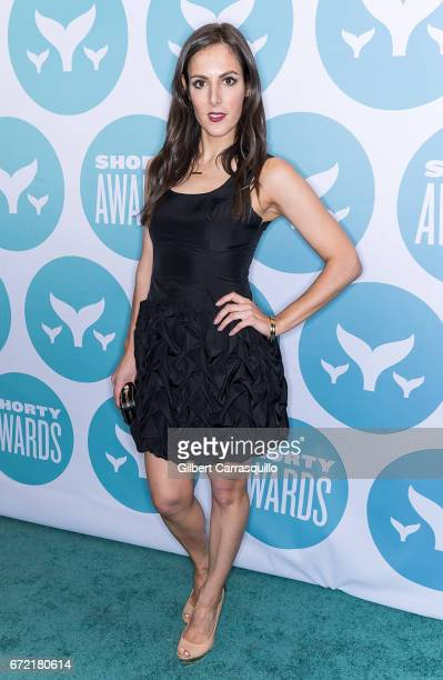 Kelly Landry attends the 9th Annual Shorty Awards at PlayStation Theater on April 23 2017 in New York City