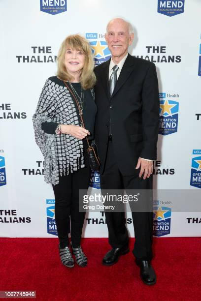 Kelly Lange and Jim Evering attend The Thalians Holiday Party with Kira Reed Lorsch as Chair at Bel Air Country Club on December 1 2018 in Los...