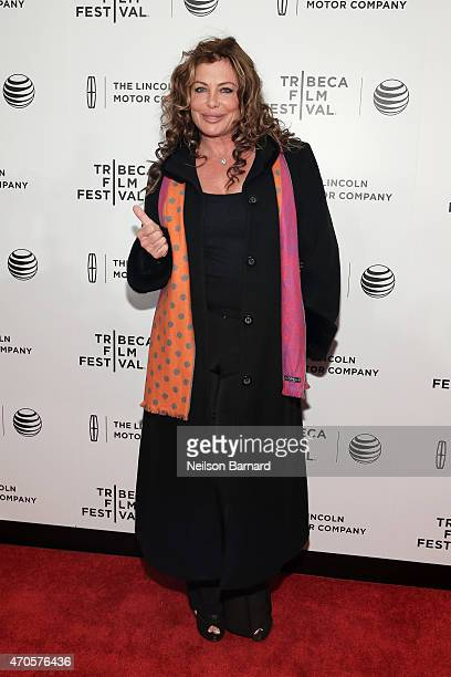 Kelly Le Brock attends Sinatra at 100 Music and Film Lincoln Screening of 'On The Town' and performances during the 2015 Tribeca Film Festival at...