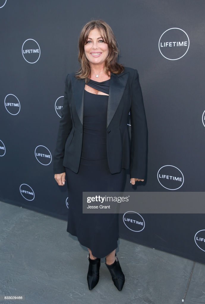 Kelly LeBrock attends Lifetime's New Docuseries 'Growing Up Supermodel's' Exclusive LIVE Viewing Party Hosted By Andrea Schroder on August 16, 2017 in Studio City, California.