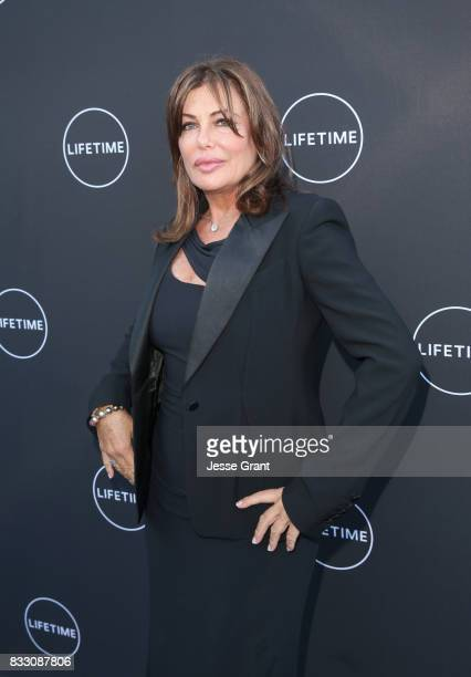 Kelly LeBrock attends Lifetime's New Docuseries Growing Up Supermodel's Exclusive LIVE Viewing Party Hosted By Andrea Schroder on August 16 2017 in...