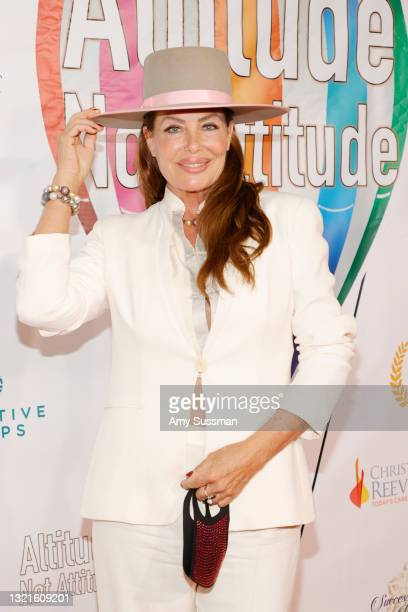 """Kelly LeBrock attends the red carpet world premiere for the documentary """"Altitude Not Attitude"""" at The Landmark on June 03, 2021 in Los Angeles,..."""