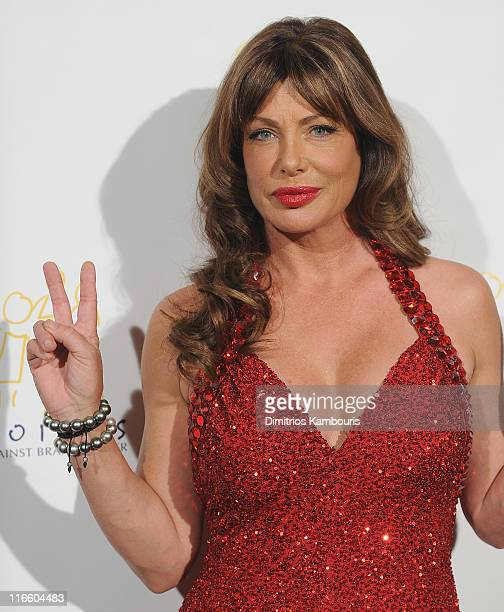 Kelly LeBrock attends the Voices Against Brain Cancer 2011 benefit at the Hammerstein Ballroom on June 16 2011 in New York City