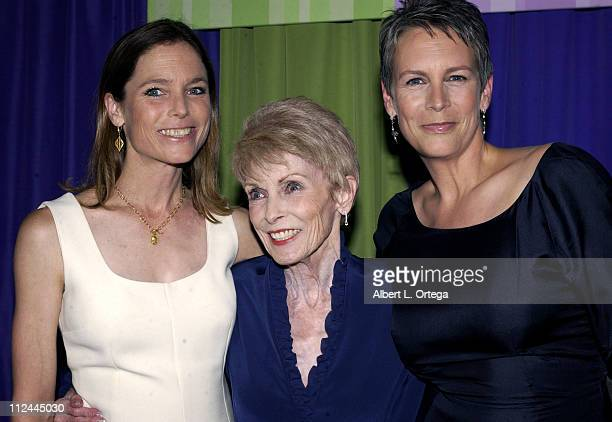 Kelly Leigh Janet Leigh Jamie Lee Curtis during Premiere of Freaky Friday at El Capitan Theater in Hollywood California United States