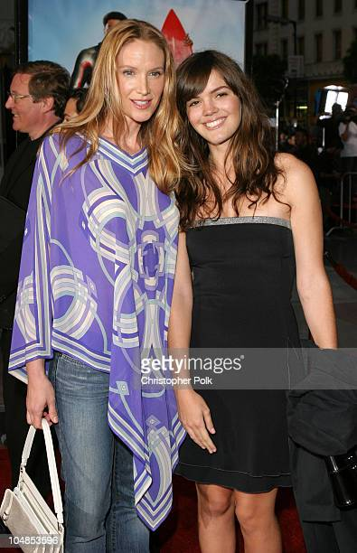 Kelly Lynch and Daughter during Premiere of Charlie's Angels Full Throttle at Grauman's Chinese Theatre in Hollywood California United States