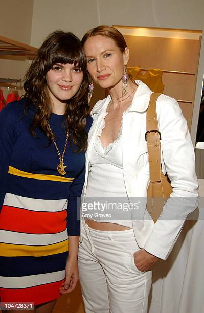 Kelly Lynch and daughter Shane during Max Mara and Vanity Fair VIP Reception To Benefit The Fulfillment Fund at Max Mara Store in Beverly Hills,...