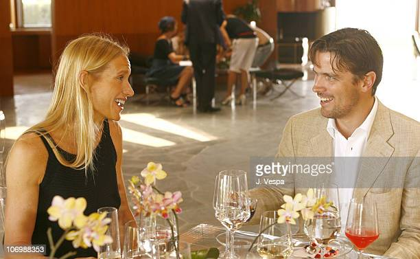Kelly Lynch and James Ferragamo during Kelly Lynch and Lisa Love Host a Lunch in Honor of James Ferragamo at Private Home in Los Angeles California...