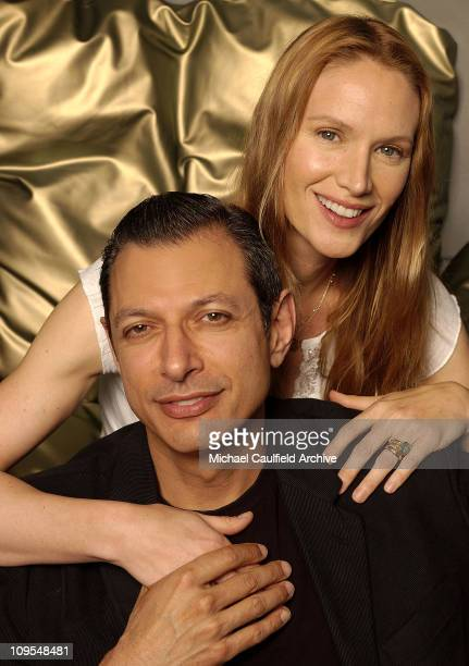 Kelly Lynch and Jeff Goldblum during CineVegas Film Festival 'Dallas 362' Portraits at Ghost Bar at the Palms Hotel in Las Vegas NV United States