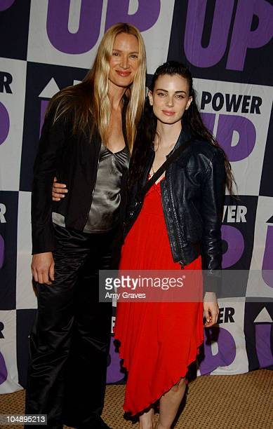 Kelly Lynch and Mia Kirshner during 3rd Annual Power Up Premiere Gala Arrivals And Inside at Regent Beverly Wilshire in Beverly Hills California...