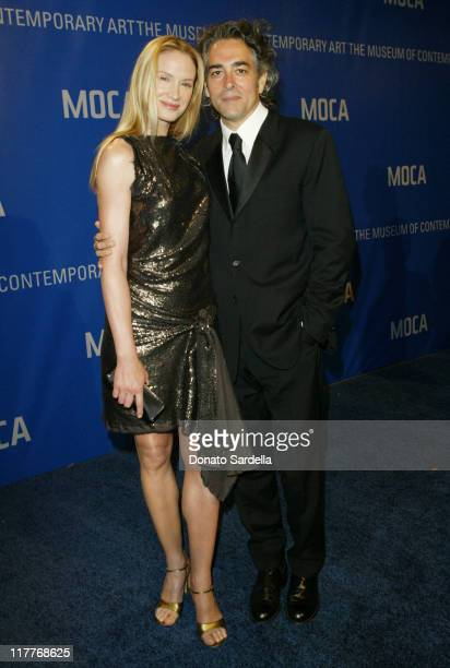 Kelly Lynch and Mitch Glazer during MOCA Celebrates 25 Years Of Groundbreaking Art Achievements Red Carpet at MOCA at The Geffen Contemporary in Los...