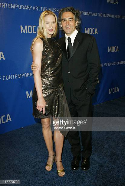 Kelly Lynch and Mitch Glazer during MOCA Celebrates 25 Years Of Groundbreaking Art Achievements - Red Carpet at MOCA at The Geffen Contemporary in...
