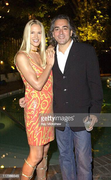 Kelly Lynch and Mitch Glazer during W Magazine and Bacardi Limon Host a Tribute to Vintage Fashion Inside at Chateau Marmont in Hollywood California...