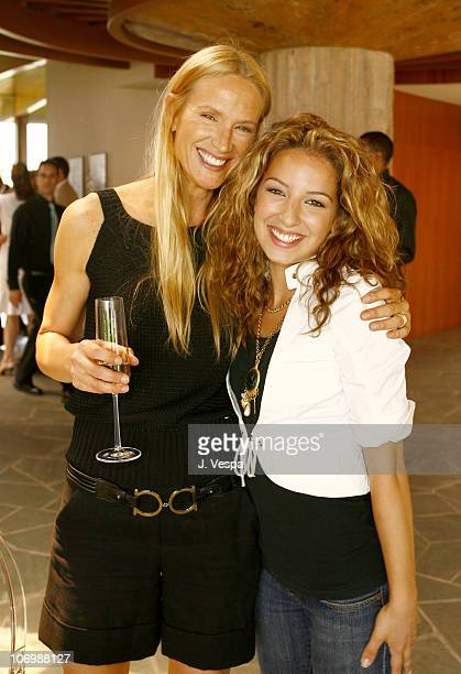 Kelly Lynch and Vanessa Lengies during Kelly Lynch and Lisa Love Host a Lunch in Honor of James Ferragamo at Private Home in Los Angeles California...