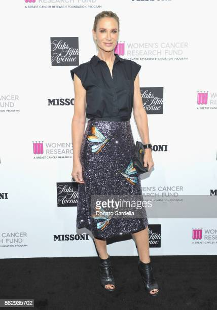 Kelly Lynch at SAKS FIFTH AVENUE and WOMENS CANCER RESEARCH FUND celebration of KEY TO THE CURE with MISSONI at Mr Chow on October 18 2017 in Beverly...