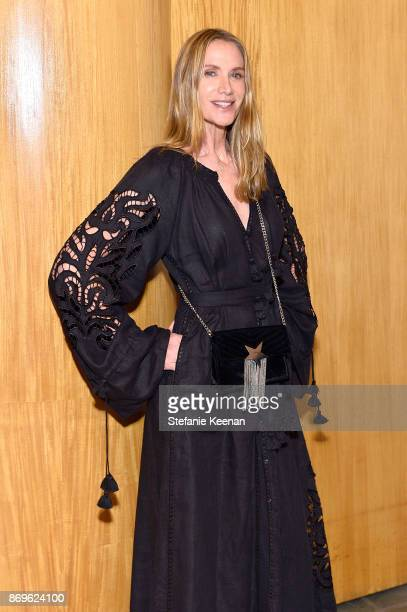 Kelly Lynch attends GQ Style Hugo Boss celebrate Amazing Spaces with Edgar Ramirez at John Lautner's Harvey House on November 2 2017 in Los Angeles...