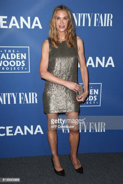 Kelly Lynch attends Rock Under The Stars with Don Henley and Friends presented by Oceana The Walden Woods Project in Hollywood California on July 17...