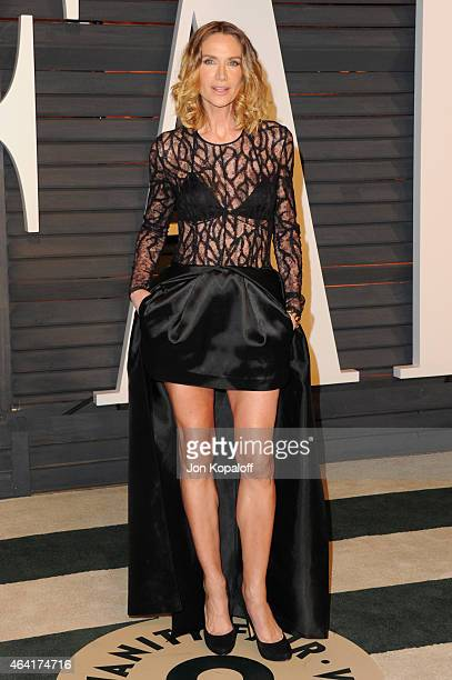 Kelly Lynch attends the 2015 Vanity Fair Oscar Party hosted by Graydon Carter at Wallis Annenberg Center for the Performing Arts on February 22 2015...
