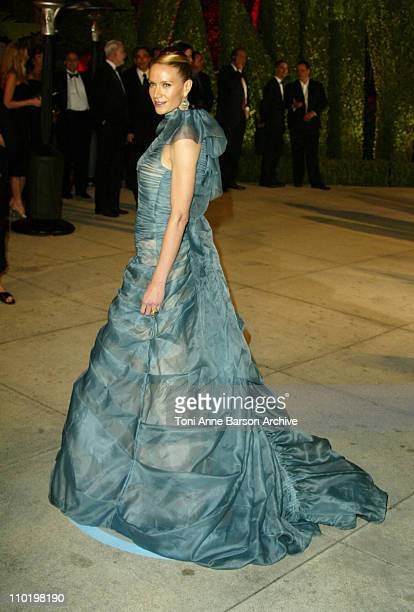 Kelly Lynch during 2004 Vanity Fair Oscar Party Arrivals at Mortons in Beverly Hills California United States
