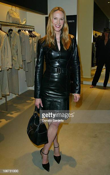 Kelly Lynch during Cerruti and David Cardona CoHost Private Party to Celebrate the Opening of Cerruti Beverly Hills Benefiting OPCC at Cerruti Store...