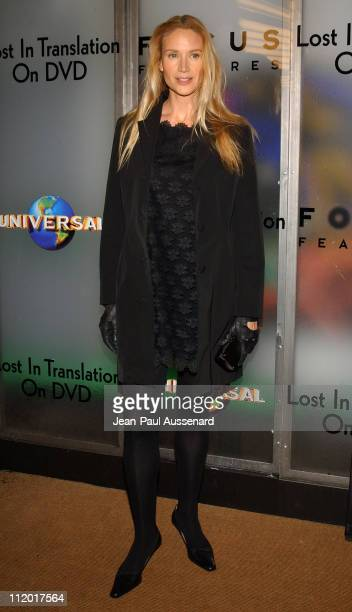 Kelly Lynch during Lost in Translation DVD Launch Party at Koi Restaurant in Los Angeles California United States
