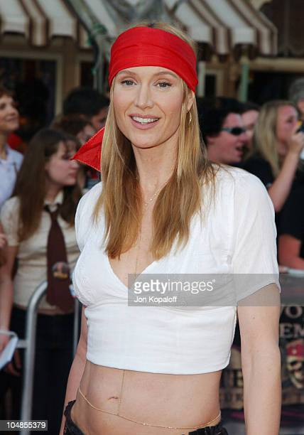 Kelly Lynch during Pirates of the Caribbean The Curse of the Black Pearl World Premiere at Disneyland in Anaheim California United States