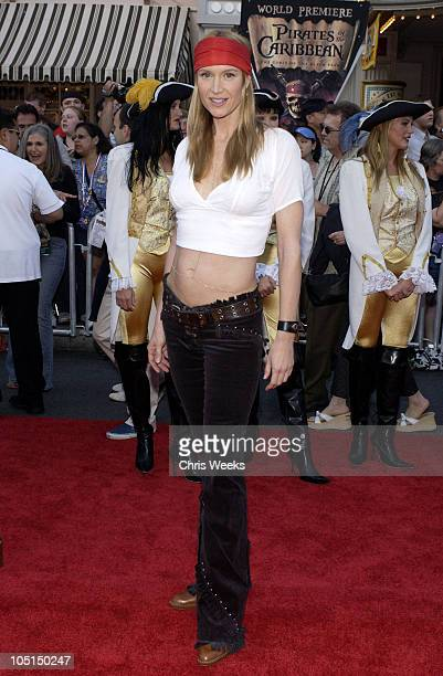 """Kelly Lynch during """"Pirates of the Caribbean: The Curse of the Black Pearl"""" World Premiere at Disneyland in Anaheim, California, United States."""