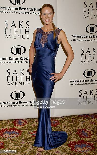Kelly Lynch during Saks Fifth Avenue's Unforgettable Evening Benefiting Women's Cancer Research Fund Arrivals at The Beverly Wilshire in Beverly...
