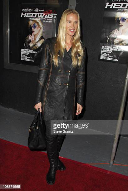 Kelly Lynch during Smashbox Cosmetics and the Roxy Theater Present Hedwig And The Angry Inch Arrivals at Roxy Theatre in West Hollywood California...