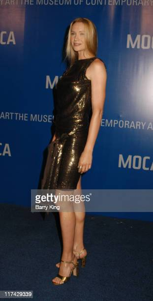 Kelly Lynch during The Museum Of Contemporary Art Celebrates 25th Anniversary Arrivals at MOCA at the Geffen Contemporary in Los Angeles California...