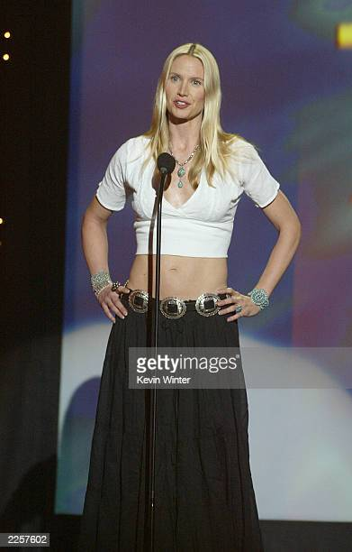 Kelly Lynch was a presenter at The 6th Annual Prism Awards at CBS Television City in Los Angeles Ca Thursday May 9 2002 Photo by Kevin Winter/Getty...
