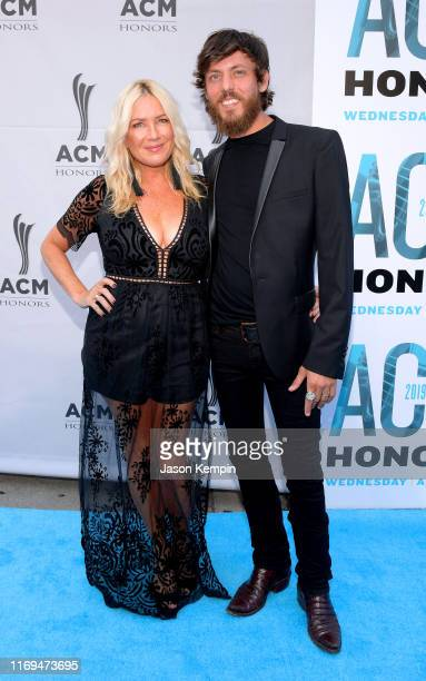 Kelly Lynn and Chris Janson attend the 13th Annual ACM Honors at Ryman Auditorium on August 21 2019 in Nashville Tennessee