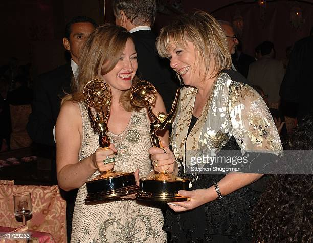 Kelly Macdonald, 2006 Emmy winner for Supporting actress, Miniseries or a Movie and Producer Hilary Bevan Jones, 2006 Emmy winner for Made-for-TV...