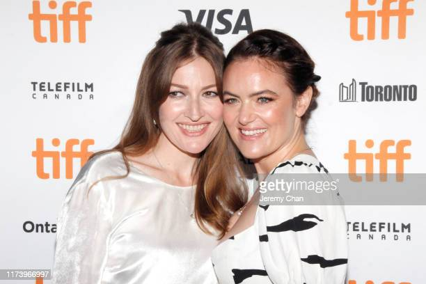 Kelly Macdonald and Julia Stone attend the Dirt Music premiere during the 2019 Toronto International Film Festival at The Elgin on September 11 2019...